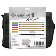 Pastel Pencil Satchel Art Set