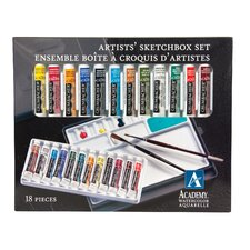 Academy Watercolor Paint (Set of 12)