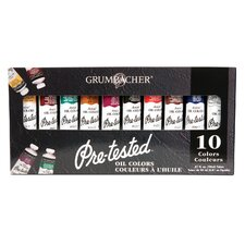 Pre-Tested Artists' Color Paints (Set of 10)