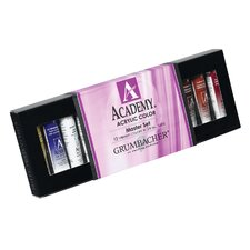 <strong>Grumbacher</strong> Academy Acrylic Paints (Set of 12)
