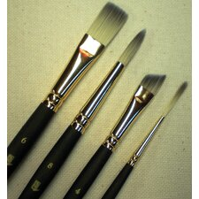Short Handle Angular Bright Brush