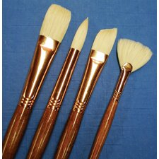 Natural Bristle Round Brush