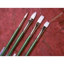 Long Handle Filbert Brush