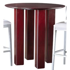 <strong>Leda Furniture</strong> Fusion Pub Table with Optional Stools