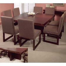 <strong>Leda Furniture</strong> Avant-Garde 9 Piece Dining Set