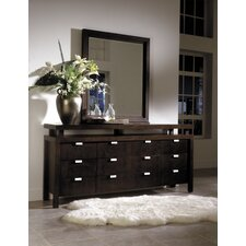 <strong>Leda Furniture</strong> Avant-Garde 9 Drawer Dresser