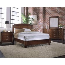 <strong>Leda Furniture</strong> Astoria Panel Bedroom Collection