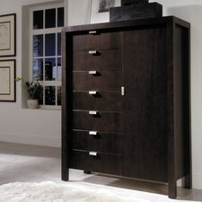 <strong>Leda Furniture</strong> Avant-Garde 7 Drawer Gentleman's Chest