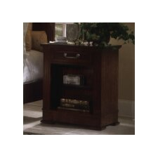<strong>Leda Furniture</strong> Princeton Single Drawer Nighstand