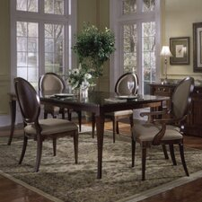 <strong>Leda Furniture</strong> Princeton 5 Piece Dining Set