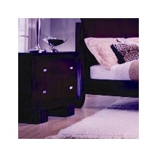 <strong>Leda Furniture</strong> Park Plaza 2 Drawer Nightstand