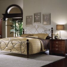 <strong>Leda Furniture</strong> Astoria Metal Bedroom Collection