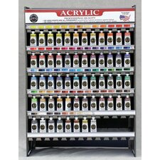 70.24ml Heavy Body Acrylic Paint Display