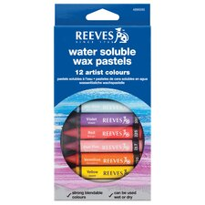 Water Soluble Wax Pastel (Set of 12)