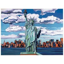 Paint By Numbers Large Statue of Liberty Painting