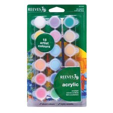 Acrylic Paint (Set of 18)