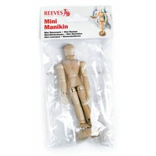 Mini Manikin in Poly Bag