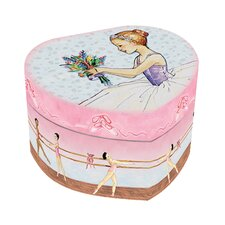 Enchantmints Ballet Heart Shaped Music Box