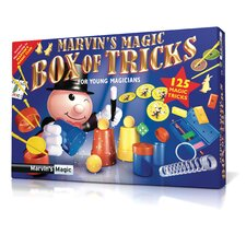 Marvin's 125 Piece Magic Tricks Box Set