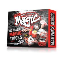 Marvin's Mind Blowing Magic Tricks Box 100 Piece Set
