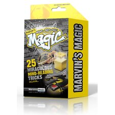 Marvin's Mind Blowing Miraculous Mind Reading Tricks Box 25 Piece Set