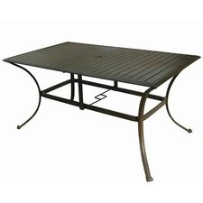 <strong>Panama Jack Outdoor</strong> Island Breeze Rectangular Dining Table