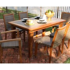 <strong>Panama Jack Outdoor</strong> Leeward Islands Rectangular Dining Table