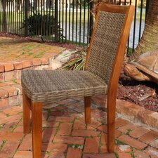 <strong>Panama Jack Outdoor</strong> Leeward Islands Stacking Dining Side Chair