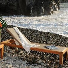 <strong>Panama Jack Outdoor</strong> Leeward Islands Chaise Lounge