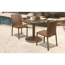 <strong>Panama Jack Outdoor</strong> St Barths 3 Piece Bistro Dining Set