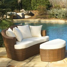 <strong>Panama Jack Outdoor</strong> Key Biscayne Daybed with Cushion