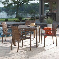 <strong>Panama Jack Outdoor</strong> St Barths 5 Piece Dining Set