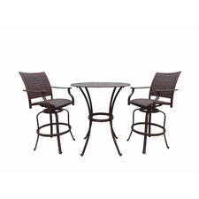 Island Cove 3 Piece Pub Dining Set