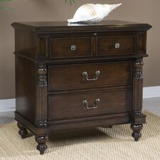 Old Havana 3 Drawer Nightstand