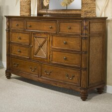Island Breeze 9 Drawer Dresser