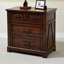 Eco Jack 3 Drawer Nightstand
