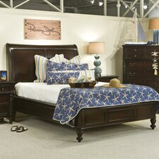 Old Havana Sleigh Bed