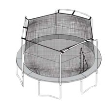 14' Trampoline Net