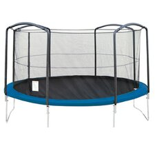 13' Enclosure Trampoline Net Using 4 Arches