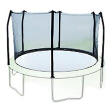 15' Enclosure Trampoline Net Using 6 Poles