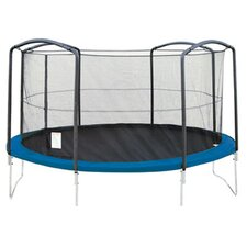 <strong>Sports Oh</strong> 12' Enclosure Trampoline Net Using 4 Arches