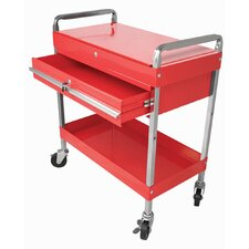 2 Drawer Locking Service Cart