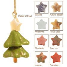 Merry Christmas Tree 14 Kt Goldfilled Earrings