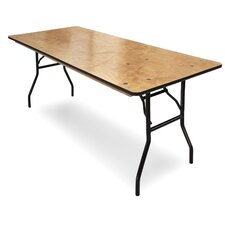 <strong>McCourt Manufacturing</strong> ProRent Plywood Folding Table