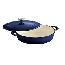 <strong>Tramontina Gourmet</strong> Tramontina Gourmet Enameled Cast Iron 4 Qt Covered Braiser Gradated