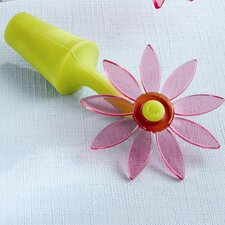 Garden ''Blooming'' Flower Bottle Stopper in Whimsical Window Gift Box