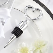Love and Hearts ''Simply Elegant'' Bottle Stopper