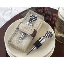 ''Vineyard Select'' Bottle Stopper