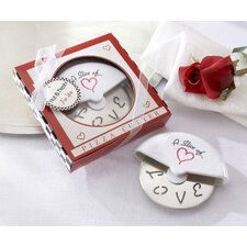 <strong>Kate Aspen</strong> ''A Slice of Love'' Pizza Cutter in Miniature Pizza Box