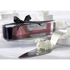 ''Slice of Style'' High Heel Cake Server
